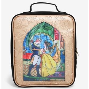 SOLD LOUNGEFLY DISNEY BEAUTY & THE BEAST BACKPACK